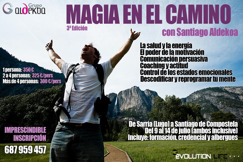Coaching y desarrollo personal en el Camino de Santiago, con Santiago Aldekoa